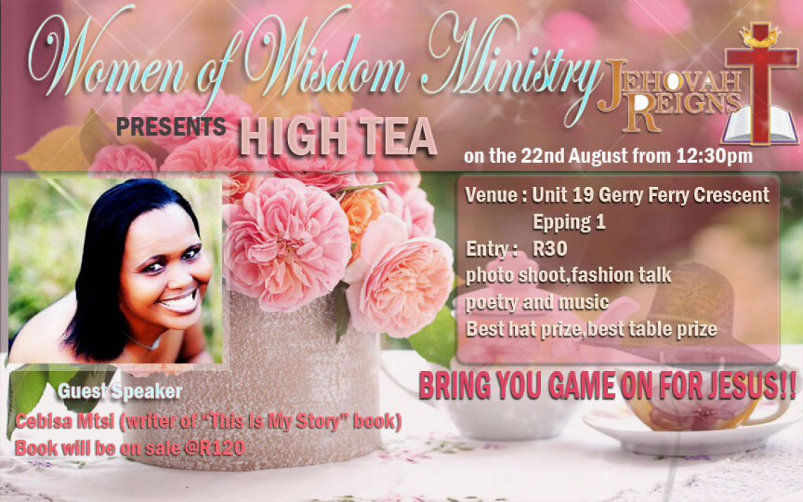 Women of Wisdom -High Tea